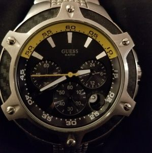 Mens Guess Steel Watch